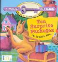 Ten Surprise Packages for Squiggle Street: A Magic Key Book - Jennifer Loya - Board Book - B...