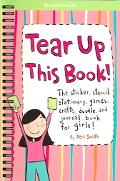 Tear Up This Book! The Sticker, Stencil, Stationery, Games, Crafts, Doodle, And Journal Book...