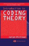 Introduction to Coding Theory (Discrete and Combinatorial Mathematics Series)
