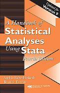 Handbook of Statistical Analyses Using Stata