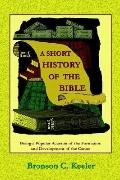 Short History of the Bible