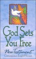 Cev God Sets Us Free - American Bible Society - Hardcover - Italian Language Edition