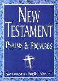 CEV Extra Large Print (18-point type) New Testament with Psalms and Proverbs: Contemporary E...