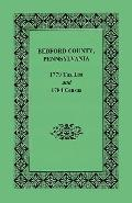 Bedford County 1779 Tax List and 1784 Census