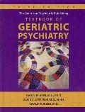 American Psychiatric Publishing Textbook of Geriatric Psychiatry