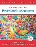 Handbook of Psychiatric Measures