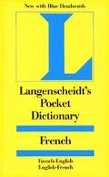 Langenscheidt's Pocket French Dictionary French/English-English/French