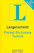 Langenscheidt Turkish Pocket Dictionary Turisk-English / English-Turkish