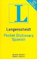 Langenscheidt's Pocket Dictionary Spanish Spanish-english / English-spanish
