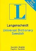 Swedish Universal Dictionary