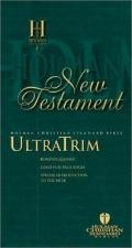 New Testament Ultratrim, Burgundy, Bonded Leather