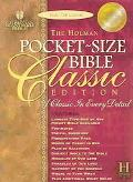 Pocket-Size Bible Classic Edition Holman Christian Standard Bible, Pecan, Bonded Leather, Sl...
