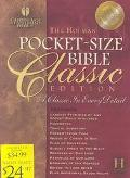Holman Pocket-Size Bible Classic Edition Holman Christian Standard Bible, Black Glazed Calf ...