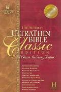 Holman Ultrathin Bible Classic Edition Holman Christian Standard , Pecan, Bonded Leather