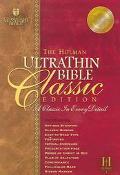 Holman Ultrathin Bible Classic Edition Holman Christian Standard Tan, Bonded Leather