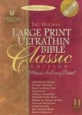 Holman Bible Ultrathin Large Print Reference Holman Christian Standard, Ultrathin, Large Pri...