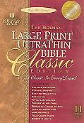 Holman Ultrathin Reference Bible Holman Christian Standard UltraThin Reference, Black Genuin...