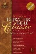 Holman Ultrathin Bible Classis Edition Holman Christian Standard, Classic Edition, Burgundy,...