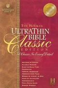 Holman Ultrathin Bible Classic Edition Holman Christian Standard, Classic, Tan, Bonded Leath...