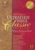 Holman Ultrathin Bible Classic Edition Holman Christian Standard, Ultra Thin Classic, Burgun...