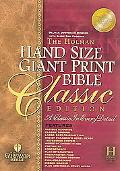 Holy Bible Holman Christian Standard Bible, Black Classic Duo-Grain Bonded Leather, Hand Siz...