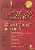 Holy Bible Holman Christian Standard Bible Reference, Black, Bonded Leather Thumb Indexed