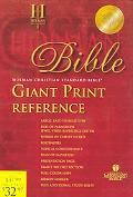 Holy Bible Holman Christian Standard Bible, Blue, Imitation Leather Indexed