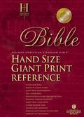 Holy Bible Holman Christian Standard Bible, Black Imitation Leather, Hand Size Giant Print R...