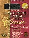 Holy Bible Holman Christian Standard Bible, Compact Black, Duo Grain, Bonded Leather