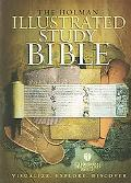 Holman Illustrated Study Bible Holman Christian Standard Bible, Black Bonded Leather