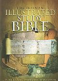 Holman Illustrated Study Bible Holman Christian Standard Bible, Black Bonded Leather, Thumb ...