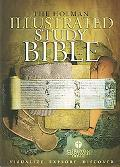 Holman Illustrated Study Bible Holman Christian Standard Bible, Burgundy, Bonded Leather, In...