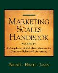 Marketing Scales Handbook A Compilation of Multi-Item Measures for Consumer Behavior and Adv...