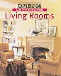Country Living Living Rooms