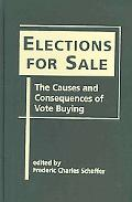 Elections for Sale The Causes And Consequences of Vote Buying