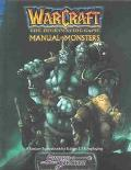 Manual of Monsters The Roleplaying Game