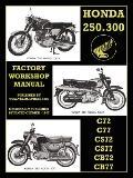 Honda Motorcycles Workshop Manual 250-300 Twins