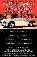Austin-Healey Owner's Handbook for the Maintenance and Repair of the 6-Cylinder Models 1956-...