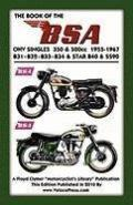 BOOK OF THE BSA OHV SINGLES 350 & 500cc 1955-1967