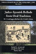 Judeo-Spanish Ballads From Oral Tradition/Iii. Carolingian Ballads (2)