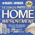 Black & Decker The Complete Photo Guide To Home Improvement 300 Projects And 2,000 Photos