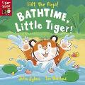 Bathtime, Little Tiger!