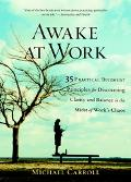 Awake at Work 35 Practical Buddhist Principles for Discovering Clarity And Balance in the Mi...