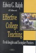 Effective College Teaching Fresh Insights and Exemplary Practices