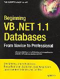 Beginning VB .Net 1.1 Databases From Novice to Professional