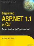 Beginning Asp.net In C# From Novice To Professional