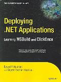 Deploying .NET Applications with MSBuild and ClickOnce