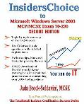 Insiders choice To Mcse/Mcp Exam 70-290 Windows Server 2003 Certification Managing And Maint...