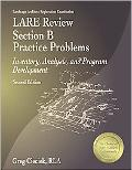 Lare Review Section B Practice Problems Inventory, Analysis, and Program Development