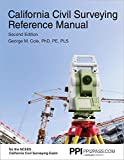 PPI2PASS California Civil Surveying Reference Manual, 2nd Edition (Paperback) - A Complete R...